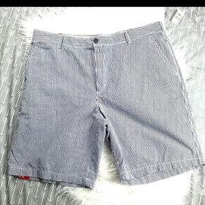 NWT Izod gingham luxury sport shorts size 42